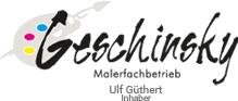 Malerfachbetrieb Geschinsky - Logo
